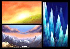 Adventure time landscapes