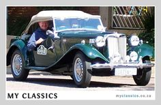 1951 MG MG TD  classic car