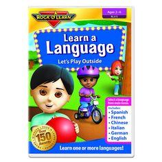 ROCK N LEARN LEARN A LANGUAGE DVD - LETS PLAY OUTSIDE