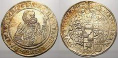 Reichstaler 1597 BM Magdeburg, Erzbistum Joachim Friedrich von Brandenburg 1566-1598. Vorzüglich mit herrlicher Prägeglanz und leichter Patina!
