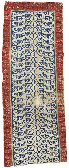 Eastern Anatolian runner fragment, possibly Nevşehir Eastern Anatolia, possibly Nevsehir. approximately 179 by 69cm; 5ft. 10in., 2ft. 3in. 16th century or earlier