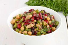 Medemblik – Vandaag op het menu een heerlijke bonensalade met paprika en balsamico. Niet alleen erg lekker maar ook nog een gezonde maaltijd.