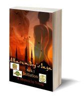 Initiation 3D-Book-Template Adolescence, Memoirs, Book 1, Saga, My Books, Promotion, Romance, June, Template