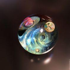 Купить Музыка Сфер ( Сатурн) . Сфера.Резерв - лемпворк, космос, галактика, стекло
