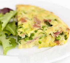 "Easy cheesy frittata, this recipe is designed for cooking with little ones. Feta is a ""saltier cheese"" adjust salt if you sub cheese type or amount. Fodmap Recipes, Egg Recipes, Cooking Recipes, Lunch Recipes, Bbc Good Food Recipes, Yummy Food, Healthy Recipes, Breakfast Time, Breakfast Recipes"