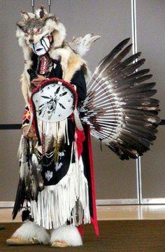 Traditional dancer - amazing regalia