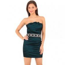 Къса рокля бюстие  CityGoddess