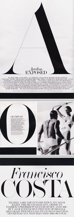 Interview Magazine | Typography #FabienBaron
