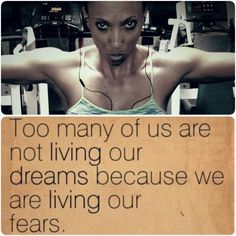 Too many of us are not living our #dreams because we are living our #fears Kick fear in the ass, #Face it, #Defeat it! Make that decision and prove to yourself you want it more than you are afraid of it! Get up, Get moving, Face it, Surpass it and Accomplish what you once were afraid of or thought was impossible. #overcomeyourfears #betteryourself  #achievingisbelieving  #iam1stphorm  #nothingstopsyou #faceyourfears #missionstoaccomplish #motivation  #inspiration  #weareinthistogetger…