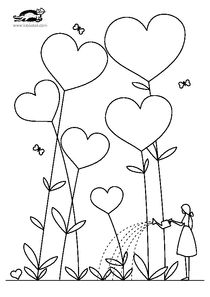 """Képtalálat a következőre: """"krokotak"""" Valentine Coloring Pages, Heart Coloring Pages, Colouring Pages, Adult Coloring Pages, Coloring Sheets, Coloring Books, Art Drawings For Kids, Doodle Drawings, Easy Drawings"""