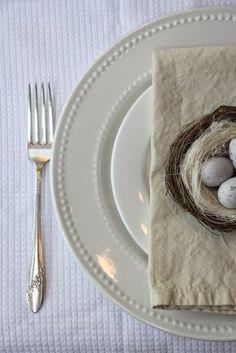 My Sweet Savannah: ~Easter table settings~