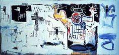 Sans Titre 1982 BASQUIAT Jean-Michel   © DR CARACTÉRISTIQUES Peinture Dimensions : 381 x 181 cm Huile/toile