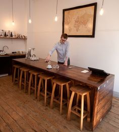 Penny University Coffee in London: 'Cause this combines great interior styling, coffee, and London.