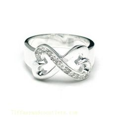 Tiffany & Co Outlet Paloma Picasso Double Loving Heart Ring. Absolutely love this!