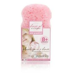 SPONGEABLES 8+ Shower Gel - Pink Grapefruit (Model: SP0801)(Pack of 3) by Spongeables. $6.99. (3) SPONGEABLES 8  Shower Gel - Pink Grapefruit (Model: SP0801). Save 70% Off!