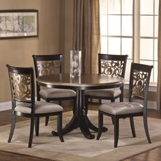 Hillsdale Bennington 5 Piece Dining Set