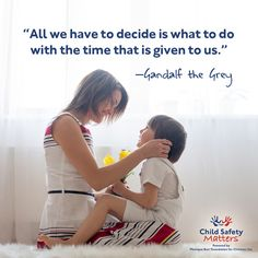 Among the many things that are out of our hands in life, what we can decide is what we dedicate our lives to. It is important to remind our children that they can be anything they wish to be, and to live life with purpose. The lessons you teach them now about kindness and compassion can shape their future for the better.