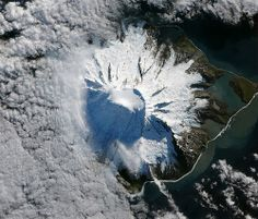 Lava Flow on Mawson Peak, Heard Island, South Sandwich Islands