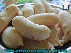 My Recipes, Sweet Recipes, Cooking Recipes, Brazillian Food, Kids Meals, Easy Meals, Portuguese Recipes, Creative Food, Donuts