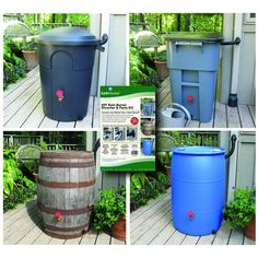 EarthMinded DIY Rain Barrel Diverter and Parts Kit-RBK-0001 - The Home Depot