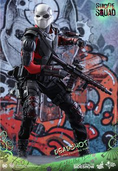 The Exclusive Hot Toys Deadshot Sixth Scale Figure is now available at Sideshow.com for fans of Suicide Squad, DC Comics…