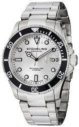 Stuhrling Original Men's 417.01 Aquadiver Regatta Espora Quartz Professional Diver Watch