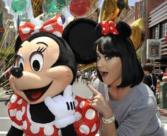 Katy Perry and Minnie Mouse :)