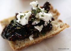 Fig and Goat Cheese Biscuits recipe