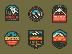 Eddie Bauer Patches // Curtis Jinkins