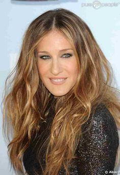 Sara Jessica Parker hair color and style