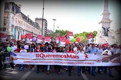 Members of the Left Bloc at a 2016 rally commemorating the Portuguese Revolution of April 25, 1974. Credit: Paulete Matos
