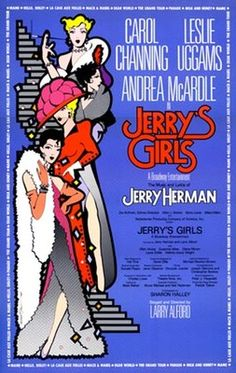 Carol Channing Leslie Uggams & Andrea McArdle in Jerry's Girl The Music and lryrics od Jerry Herman Pre-Broadway Tour Poster 1984 Broadway Posters, Theatre Posters, Tour Posters, Broadway Theatre, Film Posters, Musical Theatre, Broadway Shows, Leslie Uggams, Nights On Broadway