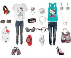 Hello Kitty clothes for teens