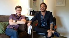 Adam Lambert on The Talk July 20, 2015