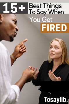 When you get fired, you're expected to have a comment for your manager and co-workers. You're also expected to figure out what to say to your family and friends. Lastly, when you get fired, it's important to know what to say to a future employer as this plays a huge role in whether you get hired or not. #whattosaywhenyougetfired Quit Job, Quitting Job, Finding A New Job, Supportive Friends, Job Interview Tips, Heavy Heart, Getting Fired, Good Notes, New Journey