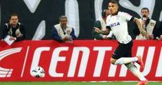 Corinthians marcha en el segundo lugar del Brasileirao por detrás del Cruzeiro. Juega contra el Santos hoy. August 10, 2014.