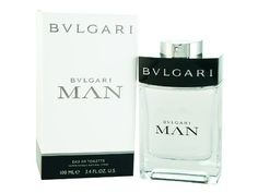 Man by Bvlgari for Men, Eau de Toilette Spray, 3.4 Ounce