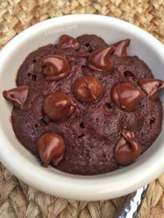 Easy 2 Minute Microwave Brownie In A Mug (or ramekin!)