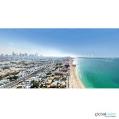 Check these amazing panoramas over Dubai. Turn around and discover the world as never seen before. Aerial View, Tours, Dubai Uae, World, Day, Beach, Water, Outdoor, Gripe Water