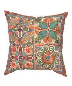 Another great find on #zulily! Gypsy's Garden Throw Pillow, $22 !!  #zulilyfinds