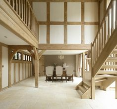 Since 1980 Border Oak have specialised in the design and construction of exceptional bespoke oak framed buildings across the UK and abroad Timber Architecture, Architecture Details, Cottage Interiors, Shop Interiors, Border Oak, Oak Framed Buildings, Oak Furniture Land, Furniture Dolly, Oak Frame House
