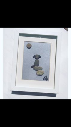 Pebble Art  'Jake the Dog'
