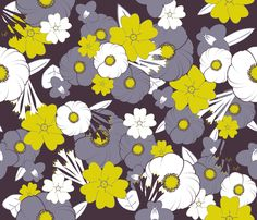 Midsummer night wallpaper by demouse on Spoonflower Eco-friendly, PVC-free fully removable wallpaper and decals, perfect for rentals. Wallpaper isselfadhesive, just soak in water and apply. Decals have a woven finish, can bere-positionedeasily.