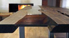 Table Bog Oak - Old Wood Design