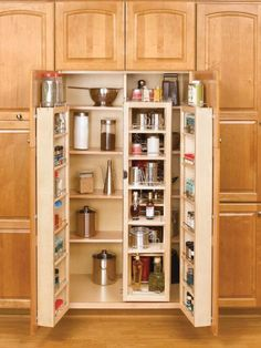 Elegant In Wall Pantry Cabinet