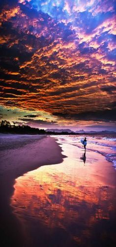 Sunset in Byron Bay, NSW, Australia   by Shadow-or-Light on Flickr