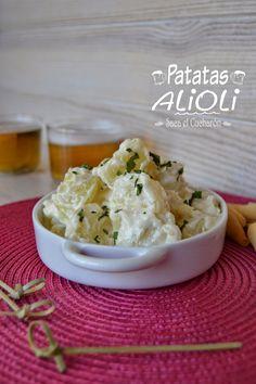 Una forma rápida y muy fácil de preparar sin complicaciones unas ricas patatas alioli, que como aperitivo siempre triunfan en mi c...