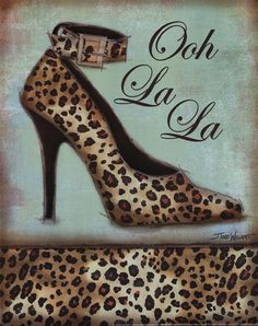 Leopard Shoe - mini