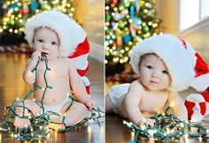 Cute for a christmas shoot. 3 month old