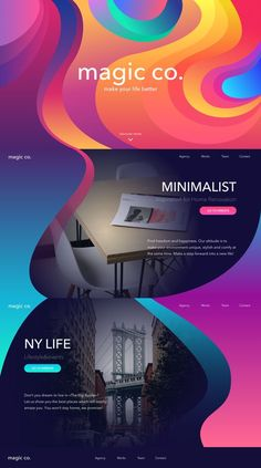Web Design, UI, and UX Inspiration What makes the journey by air good? Easy take-off, smooth flight, Web And App Design, Web Design Trends, Design Websites, Site Web Design, Blog Design, Ideas For Websites, Layout Design, Graphisches Design, Creative Design